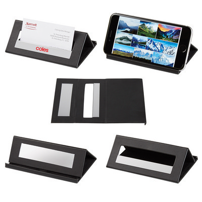 Desk Card Holder/Media Stand - (printed with 1 colour(s)) PH6322_PS
