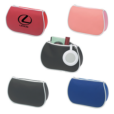 Amenities Bag With Mirror - (printed with 1 colour(s)) PH9453_PS