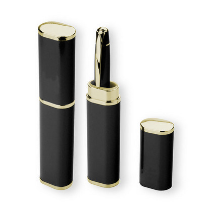 Aluminium Gold Pen Box (PS1603_PS)