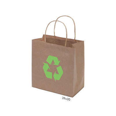 Kraft Paper Bag Brown Small Includes Twisted Paper Handle PS4601_s_PS