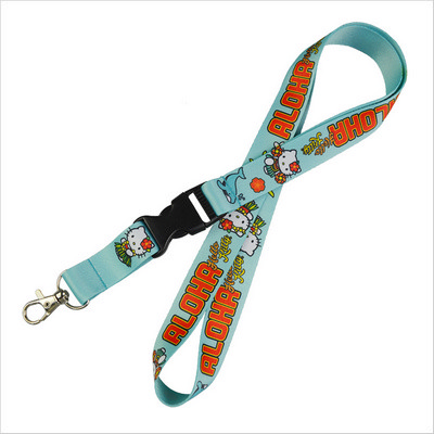 Sublimated lanyard with detachable swivel clip (PS6012_PS)