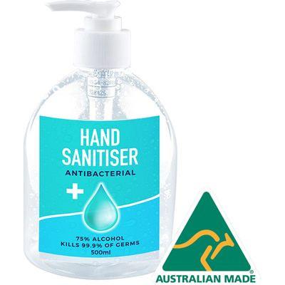 Hand Sanitiser 500Ml Made In Australia