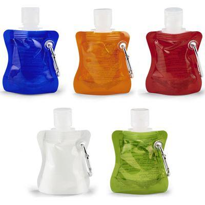 Soft Pack 30Ml Hand Sanitiser With Carabiner Made In China