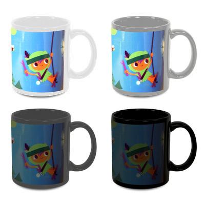 Sublimated Can Colour Change Mug