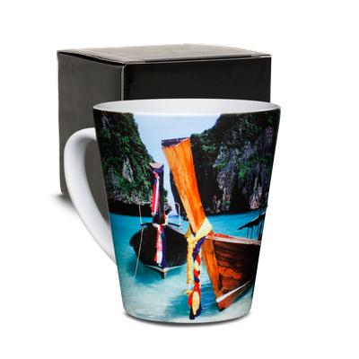 Sublimated Latte Mug