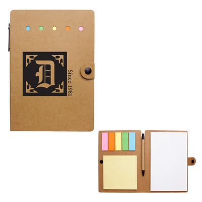 LARGE SNAP NOTEBOOK WITH DESK ESSENTIALS (PH1351_PS)