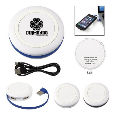 Power-Up Wireless Charging Pad & USB Hub (PH2885_PS)
