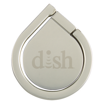 ALUMINUM CELL PHONE RING AND STAND - (printed with 1 colour(s)) PH2932_PS