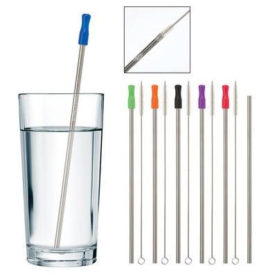 STAINLESS STEEL STRAW WITH CLEANING BRUSH (PH5202_PS)