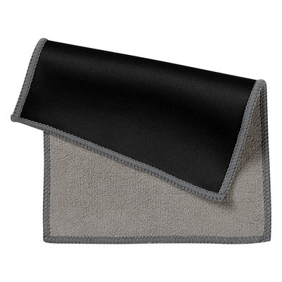 DUAL MICROFIBER CLEANING CLOTH IN CASE