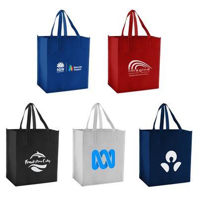 Large Non-Woven Shopping Bag PS4031_bk_PS