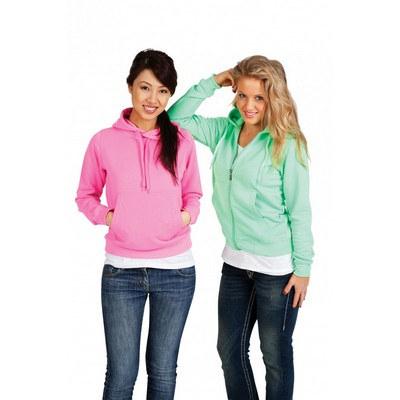 Ladies juniors Zip Fluoro Hoodie