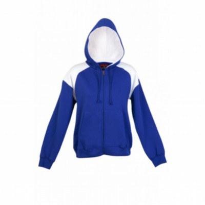 Ladies juniors Should Contrast Panel Zip Hoodies