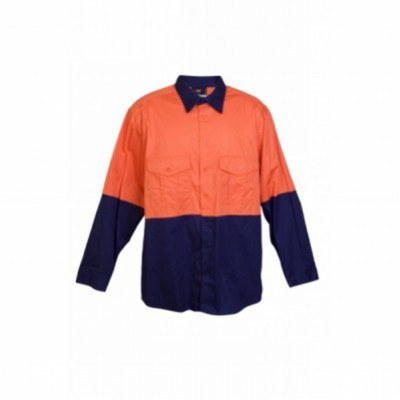 100% COMBED COTTON DRILL SHIRT