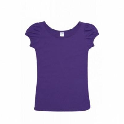 American Style Ladies Puff Sleeve T-Shirt