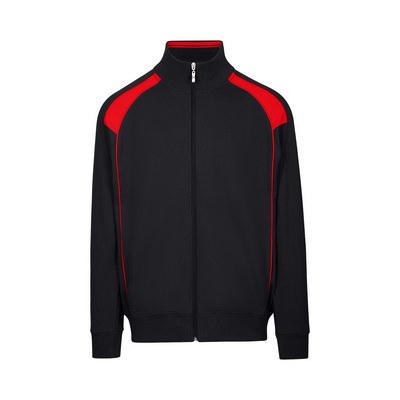 Mens Unbrushed Contrast Jacket