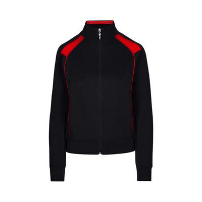 Ladies/Juniors Unbrushed Contrast Jacket