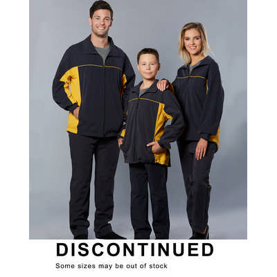 Adults Warm Up Jacket With Breathable Lining