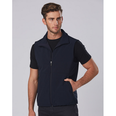 Mens Softshell Hi-Tech Vest