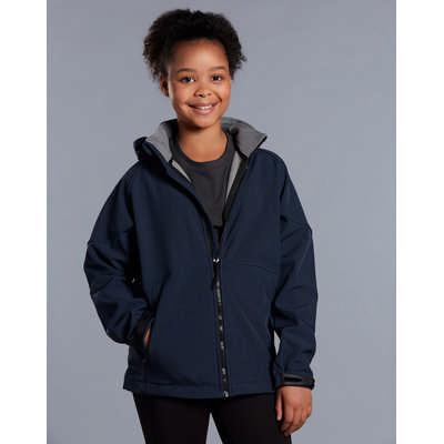 Kids Aspen Softshell Hood Jacket