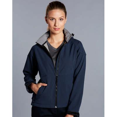 Ladies Aspen Softshell Hood Jacket