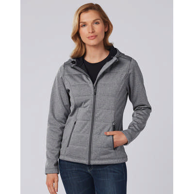 Ladies Jasper Cationic Quilted Jacket