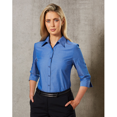 Ladies Nano Tech 34 Sleeve Shirt M8003_WIN