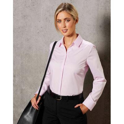 Barkley Ladies Taped Seam Long Sleeve Shirt