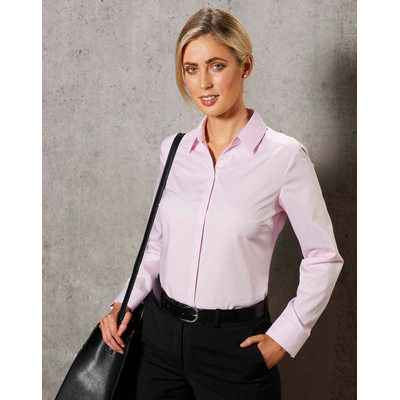Barkley Ladies Taped Seam Long Sleeve Shirt
