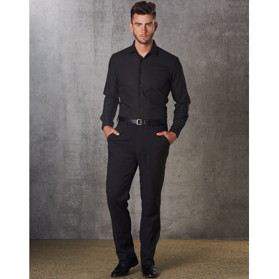 Mens PolyViscose Stretch Pants