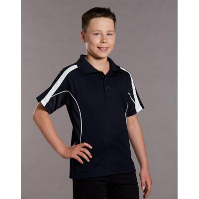 Kids TrueDry Fashion Short Sleeve Polo