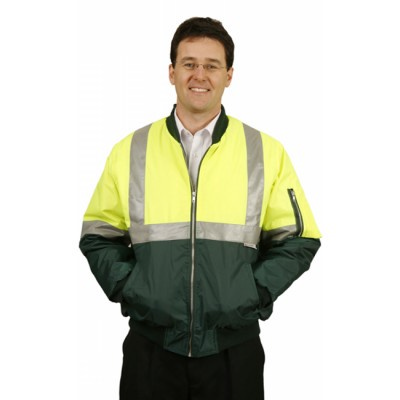 High Visibility Two Tone Flying Jacket with 3M Reflective Tapes SW16_WIN