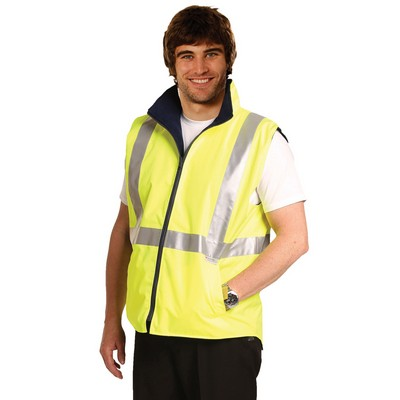 Hi-Vis Safety Vest With 3M Tapes