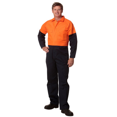 Mens Two Tone Coverall Regular Size