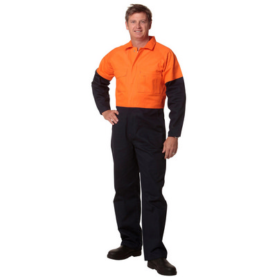 Mens Two Tone Coverall Stout Size