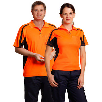 Hi-Vis Fashion Polo Unisex