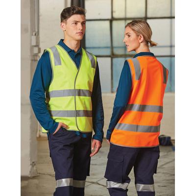 Safety Vest With Shoulder Tapes