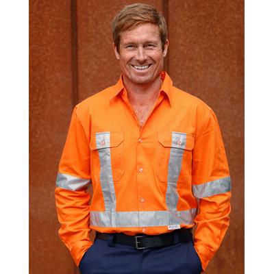 Cotton Drill Safety Shirt