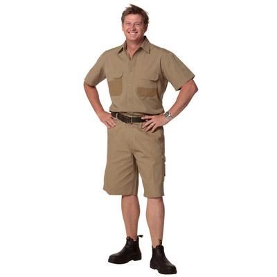 Mens Durable Work Shorts