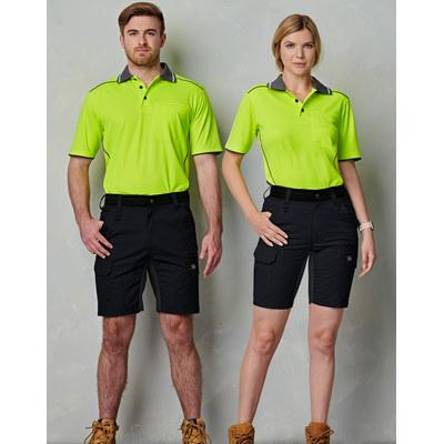 Unisex Ripstop Stretch Work Shorts