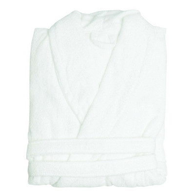 Terry Bath Robe with Collar