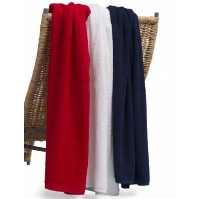 Elite Large towel with Tone on Tone or Black print