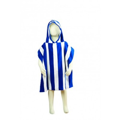 Fun Stripe Hooded kids Ponchos
