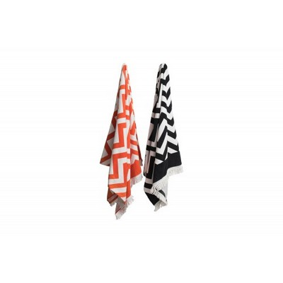 Morrissey Zig Zag  Beach towel