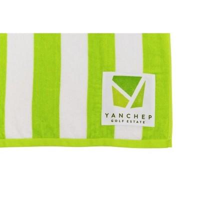 Photo Decoration - sublimated print can be sewn onto any Simba Towel