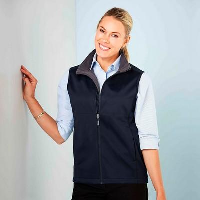 Ladies Bonded Soft-Shell Vest