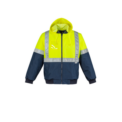 Syzmik Mens Hi Vis Quilted Flying Jacket