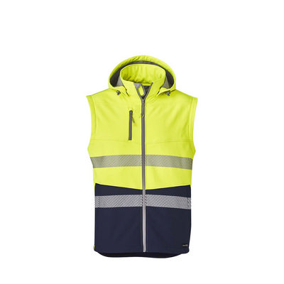 Syzmik Unisex Streetworx 2 in 1 Stretch Softshell Taped Jacket