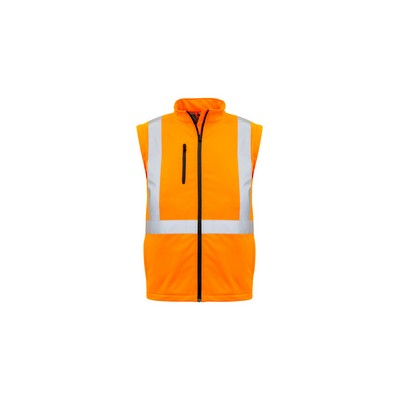 Syzmik Unisex Hi Vis X Back 2 in 1 Softshell Rain Jacket