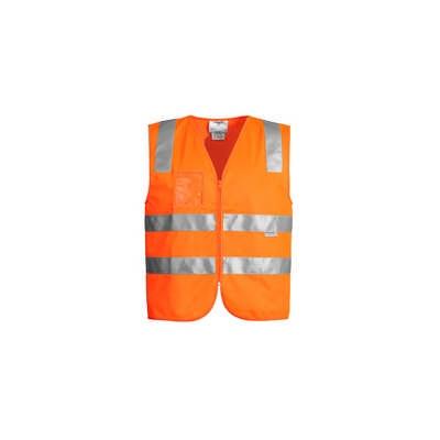 Unisex Hi Vis Full Zip Vest